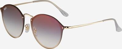 Ray-Ban Sonnenbrille in blau / gold, Produktansicht