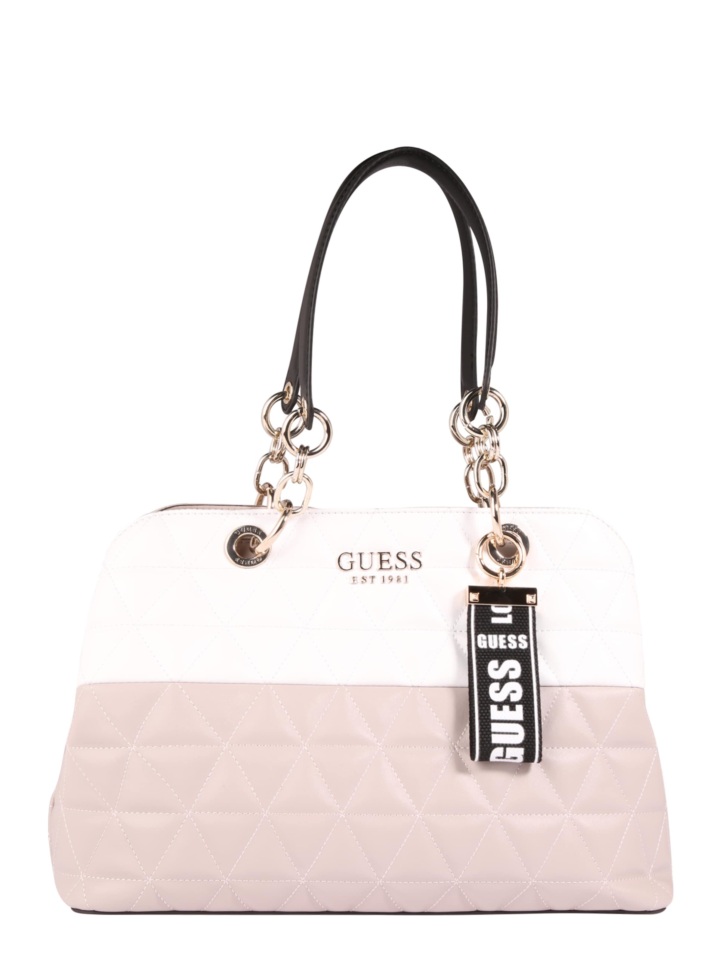 cheap for discount bc8ea 309b3 TaupeWeiß 'laiken' Guess Handtasche Handtasche In Guess 4RAj5L