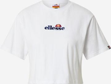 ELLESSE Μπλουζάκι 'Fireball' σε λευκό