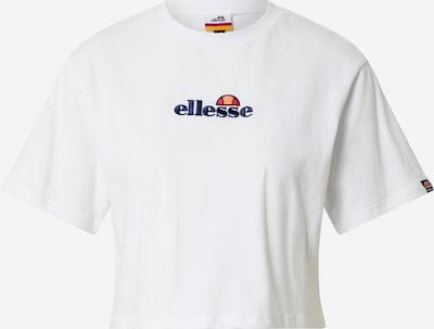 ELLESSE Shirt 'Fireball' in de kleur Blauw / Geel / Rood / Wit, Productweergave