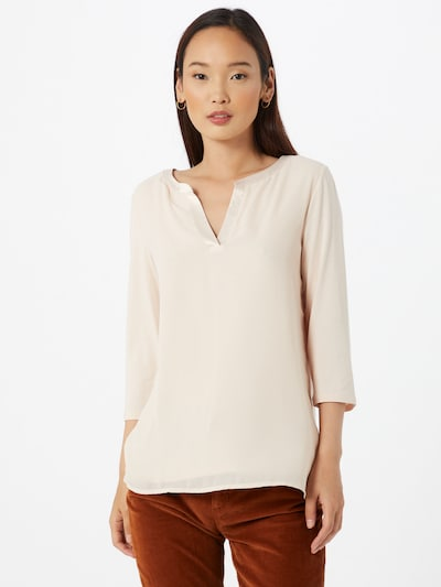 COMMA Shirt in beige, Modelansicht