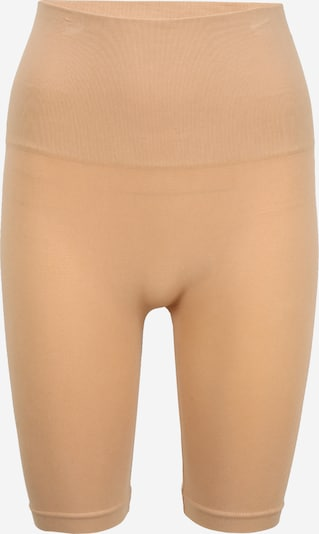 barna PIECES Alakformáló nadrágok, Termék nézet