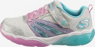 SKECHERS Sneaker 'FUSION FLASH' in hellblau / lila / silber, Produktansicht