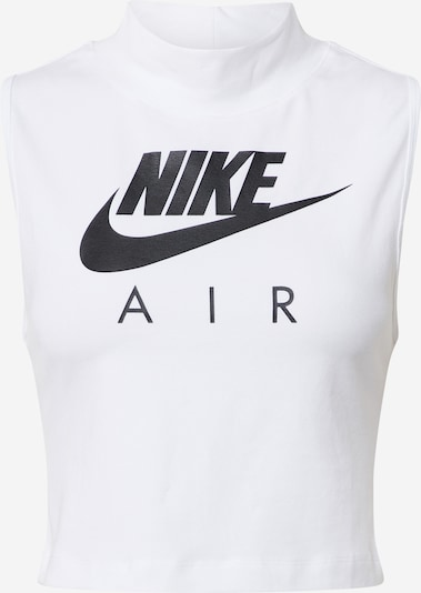 Nike Sportswear Top - čierna / biela, Produkt