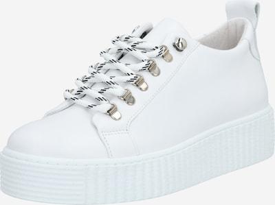 Sneaker low 'Burmel hike 11399' Samsoe Samsoe pe alb: Privire frontală