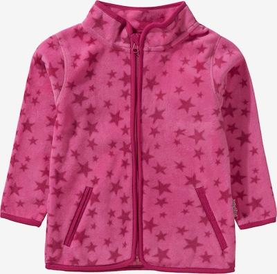 PLAYSHOES Fleecejacke Sterne für Mädchen in pink, Produktansicht