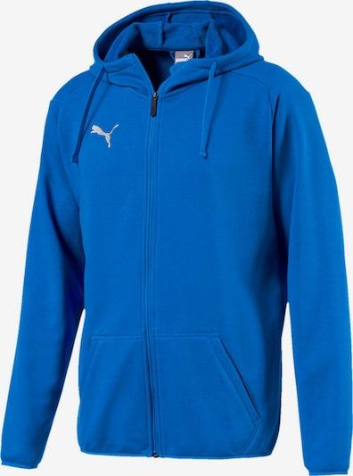 PUMA Sweatjacke 'Liga' in blau, Produktansicht