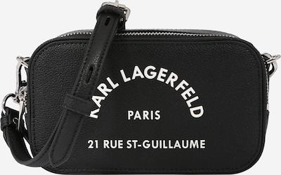 Karl Lagerfeld Sac pour appareil photo 'Rue St Guillaume' en noir / blanc, Vue avec produit
