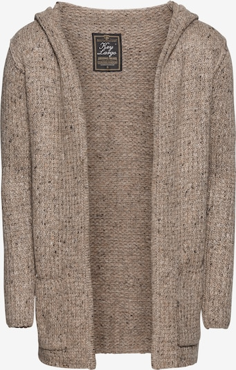 Key Largo Knit cardigan 'TERENCE HILL' in Brown mottled, Item view