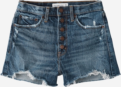 Abercrombie & Fitch Jean 'HIGH RISE DENIM SHORTS' en bleu denim, Vue avec produit
