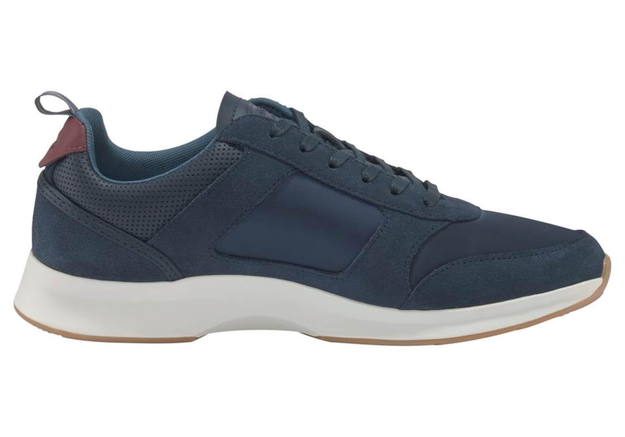 Sneaker 'joggeur In 418 Lacoste 1' DunkelblauWeiß n0m8wvN