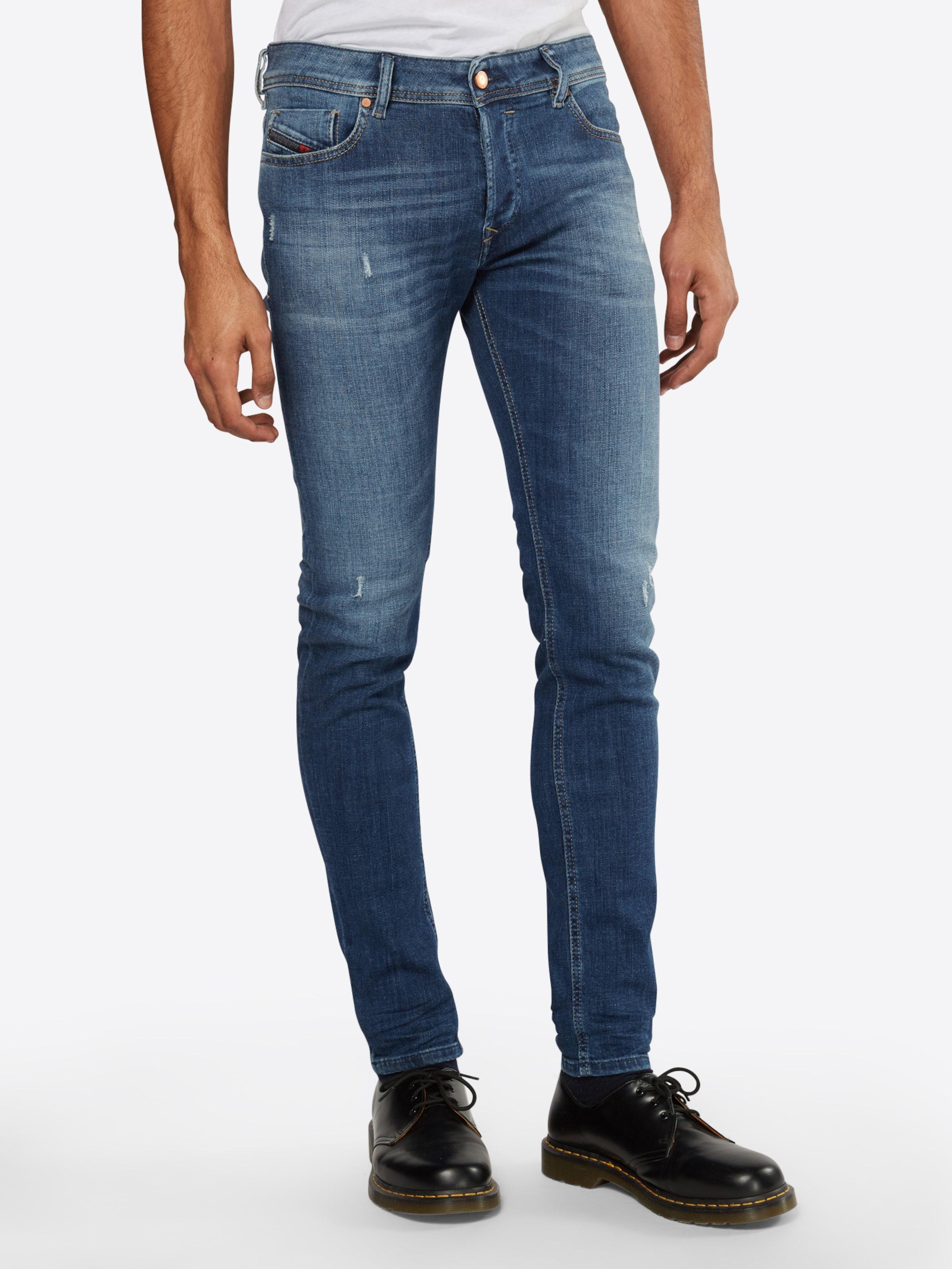 DIESEL 'Sleenker' Jeans Skinny Fit 886Z Nicekicks Freies Verschiffen Zahlen Mit Paypal Schnelle Lieferung Verkauf Online okHgI5Ar