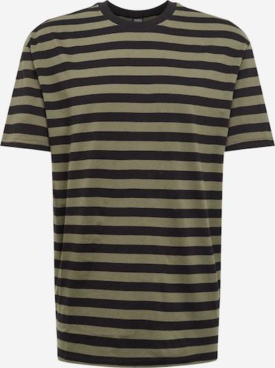 Urban Classics Shirt in oliv / schwarz, Produktansicht