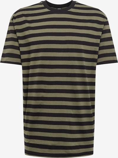 Urban Classics Koszulka w kolorze oliwkowy / czarnym, Podgląd produktu