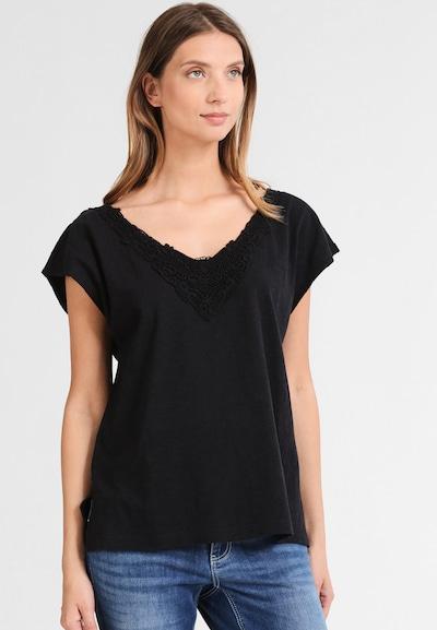 Usha Shirt in schwarz: Frontalansicht