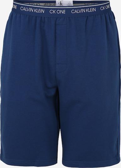 Calvin Klein Underwear Pantalon de pyjama en bleu, Vue avec produit