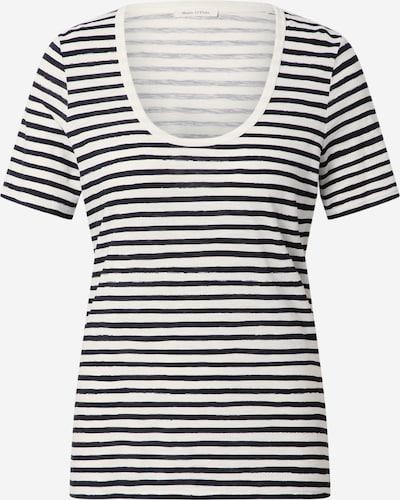 Marc O'Polo Shirt in de kleur Zwart / Wit, Productweergave