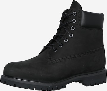 TIMBERLAND Nöörsaapad 'AF 6IN Premium Boot', värv must