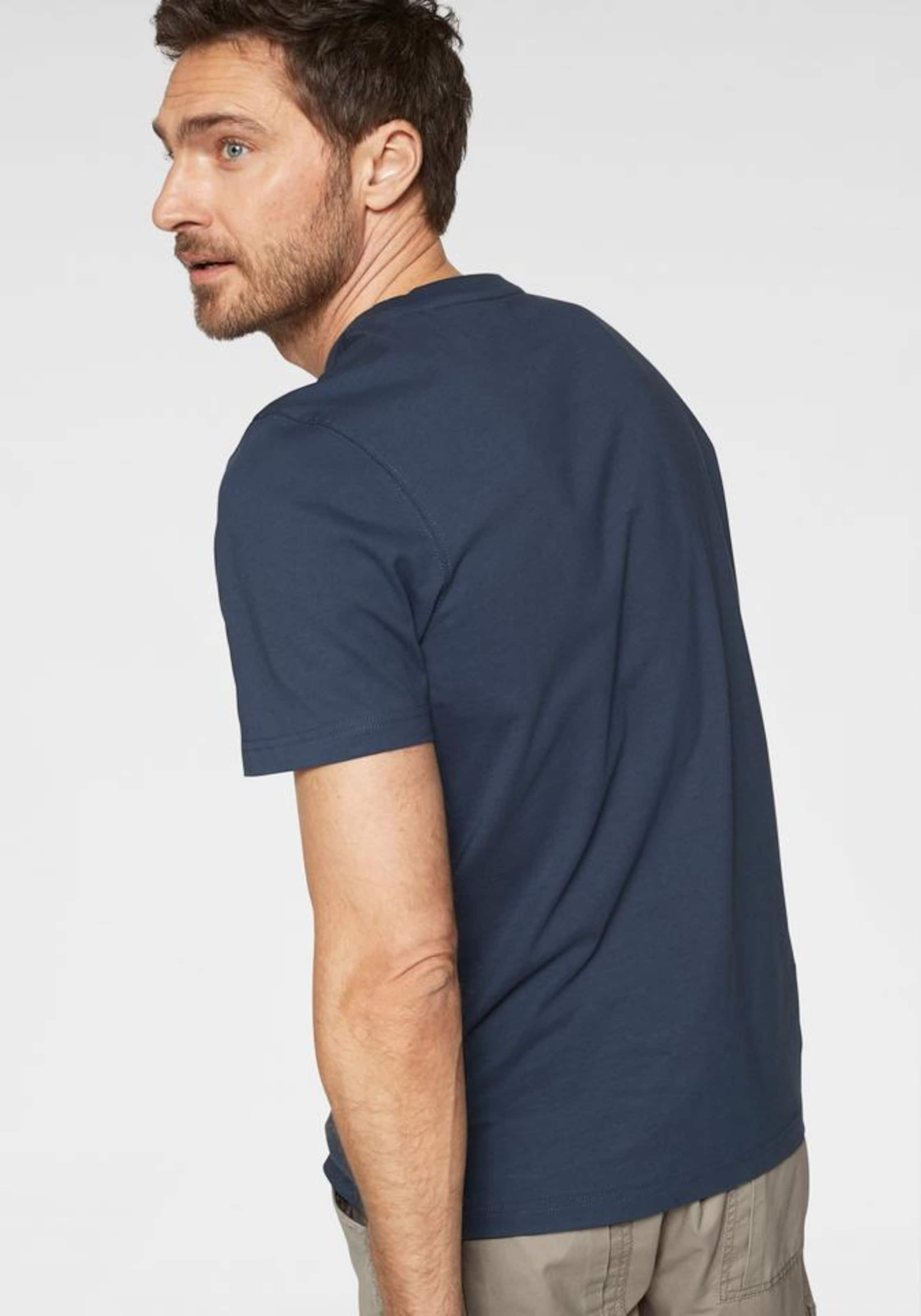 World Man's shirt T MarinePastellrot In 7fvYIb6gy
