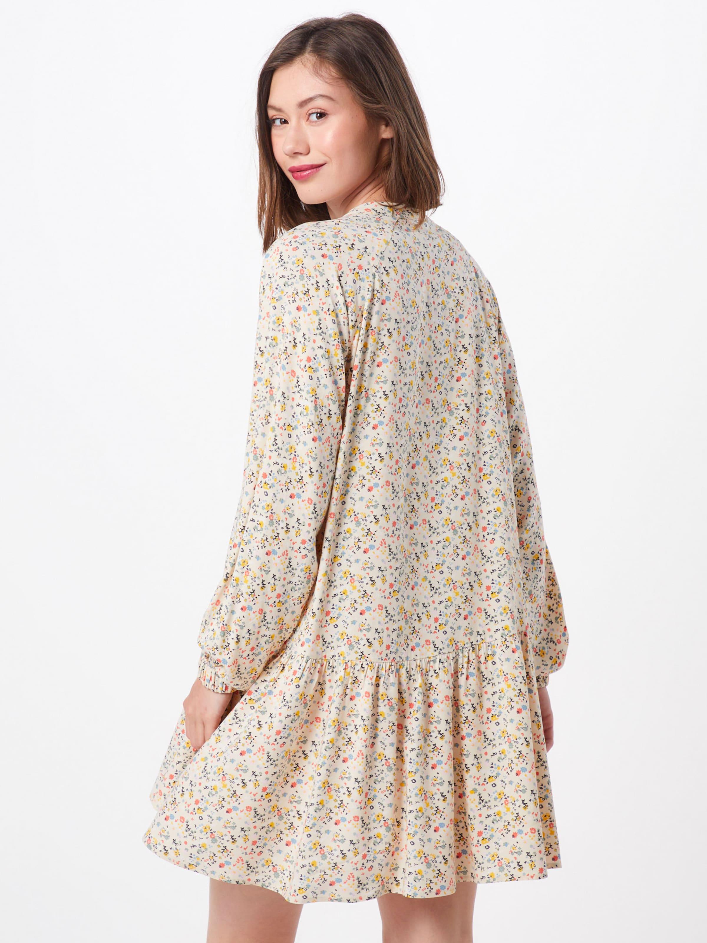Envii Kleid 'enart Dress Ls BeigeMischfarben Aop' In 0PXOk8nw
