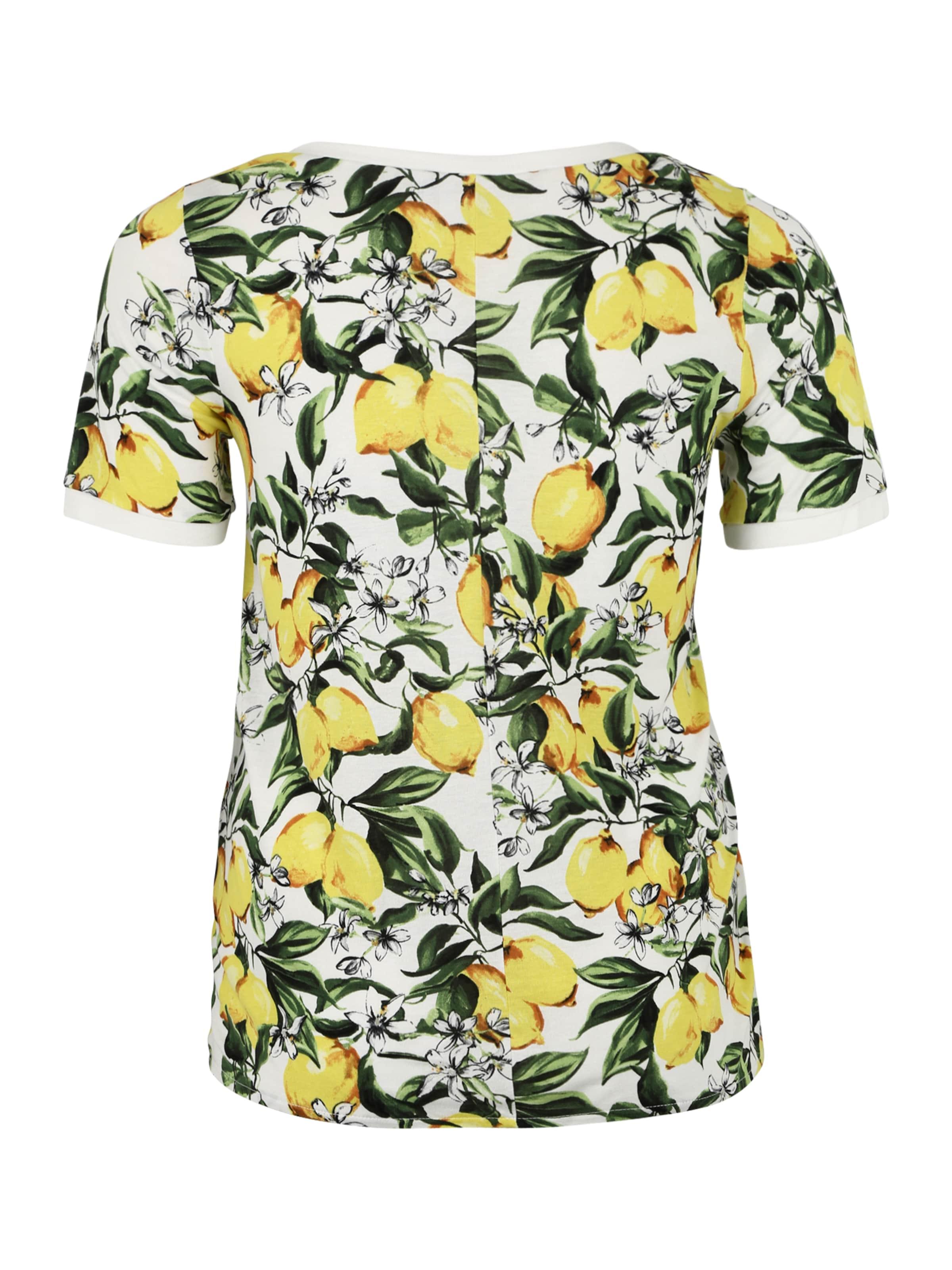 T shirt CitronVert Blanc En 'silke' Junarose O08nwkPX
