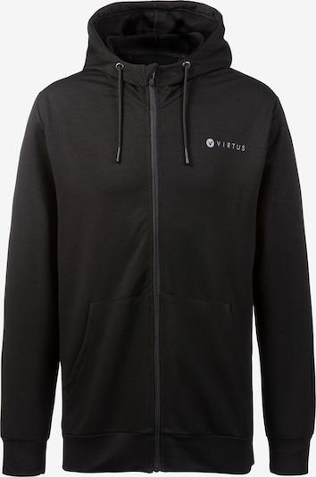 Virtus Sweatjacke Brent in schwarz, Produktansicht