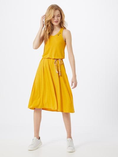 Ragwear Kleid 'MILIE' in gelb, Modelansicht