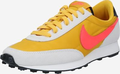 Nike Sportswear Baskets basses 'Daybreak' en jaune / rouge orangé / blanc cassé, Vue avec produit