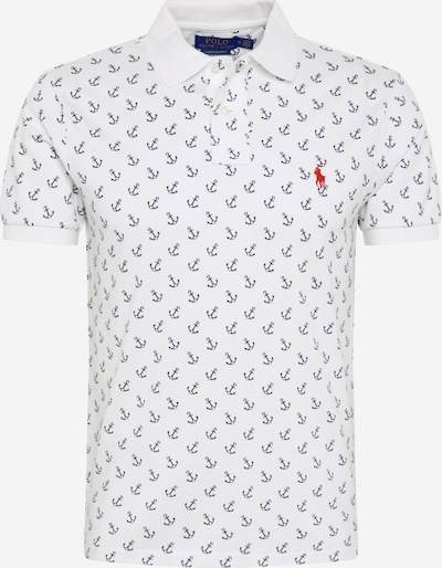 POLO RALPH LAUREN T-Shirt en bleu / blanc, Vue avec produit