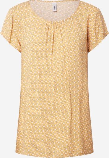 Soyaconcept Bluse 'Iggy 1' in gelb / weiß, Produktansicht