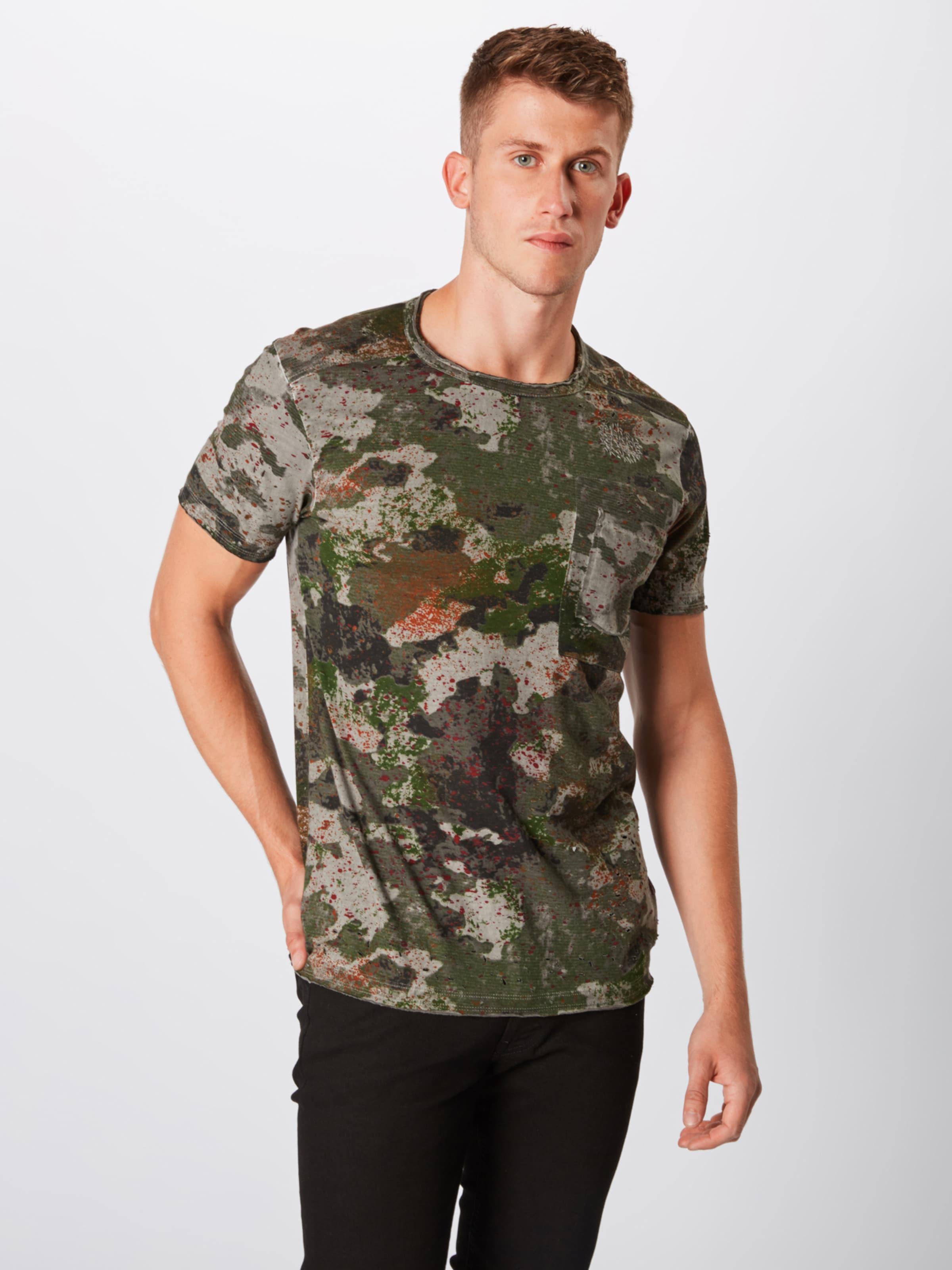 2' In GrijsGroen 'cadmon Tigha Zwart Shirt doxeWCrB