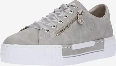 RIEKER Låg sneaker i ljusgrå, Produktvy