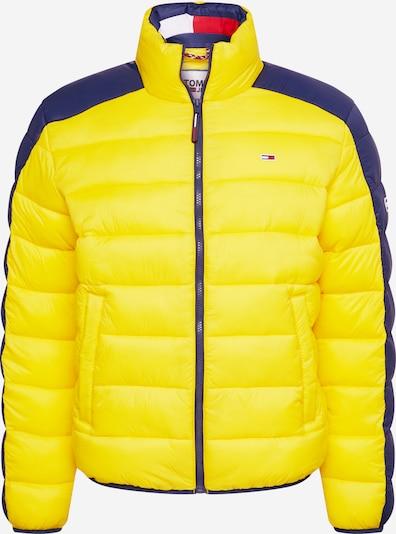 Tommy Jeans Parka d'hiver en bleu / jaune, Vue avec produit