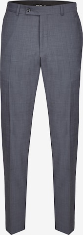 DANIEL HECHTER Pleated Pants 'Mix & Match RACING' in Grey