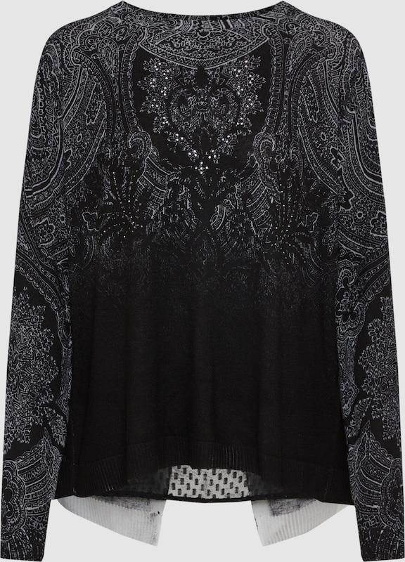 Desigual Pullover 'EDIMBURGO' in grau   schwarz  Neue Kleidung in dieser Saison
