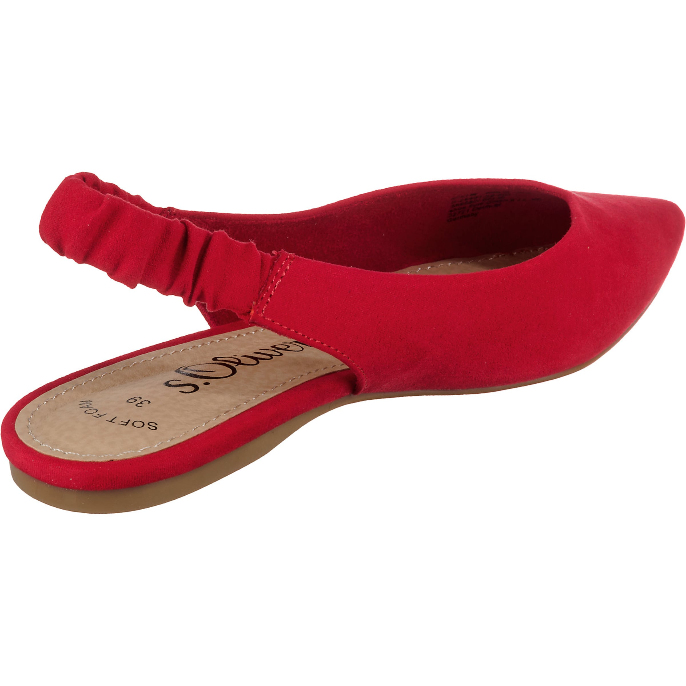 oliver Red Slingpumps Label Rot In S PZuOkiX