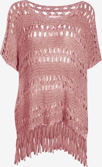 Usha Strickponcho in rosa, Produktansicht