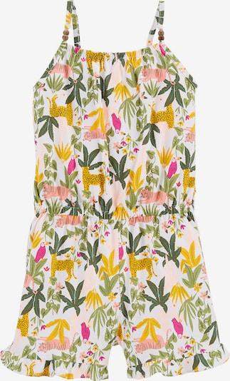 Carter's Jumpsuit in limone / grasgrün / pink / rosa / weiß, Produktansicht