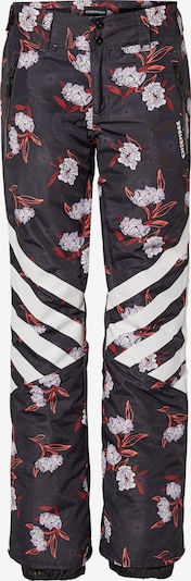 CHIEMSEE Sports trousers in Red / Black / White, Item view
