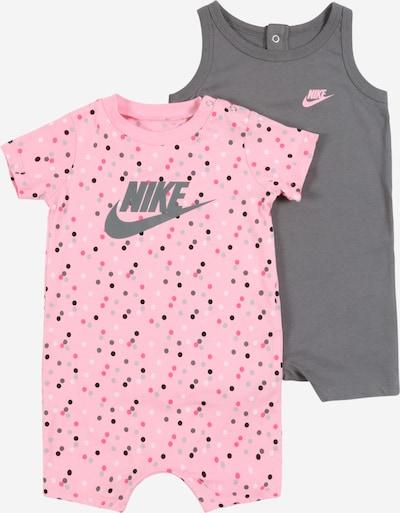 Nike Sportswear Kombinezons/bodijs pieejami pelēks / rožkrāsas, Preces skats