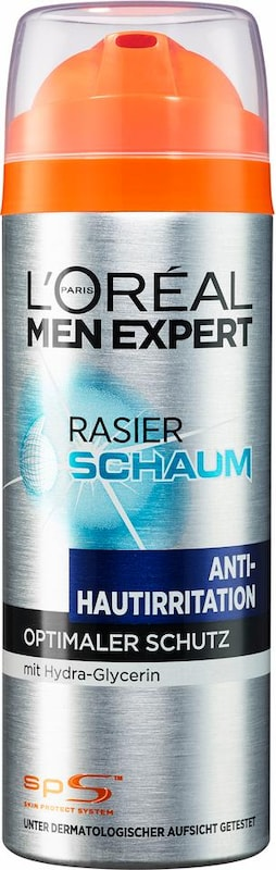 L'Oréal Paris men expert 'Hydra Energy Rasierschaum Anti-Hautirritation', Rasiergel/-schaum