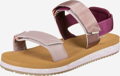 TOMS Sandalen 'Ray W' in rosa: Frontalansicht