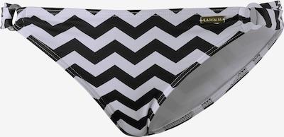 LASCANA Bikini Hose  'Grace' in schwarz / weiß, Produktansicht