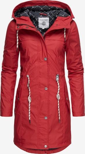 Peak Time Regenjacke 'L60042' in rot, Produktansicht