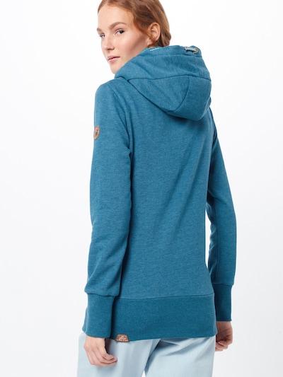Ragwear Sweatshirt 'YODA' in türkis: Rückansicht