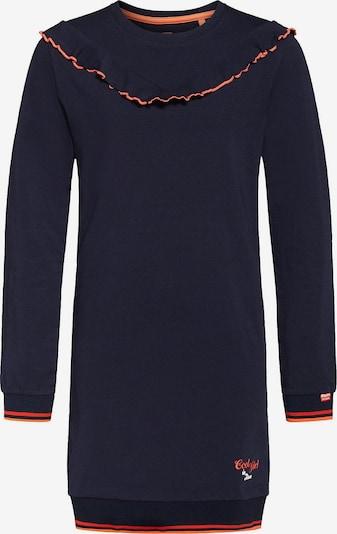 WE Fashion Sweatkleid NADIA in dunkelblau / rot, Produktansicht