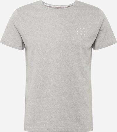 BLEND Shirt in graumeliert, Produktansicht