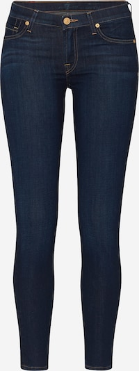 7 for all mankind Jean 'THE SKINNY' en bleu denim, Vue avec produit