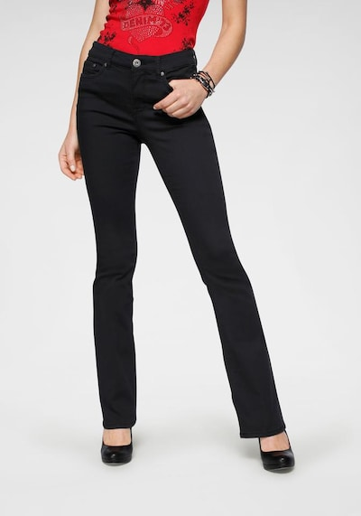 ARIZONA Jeans in black denim, Modelansicht