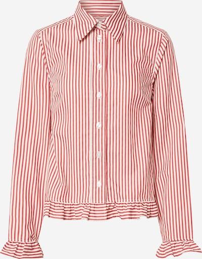 Libertine-Libertine Bluse 'PRESENT' in rot / weiß, Produktansicht